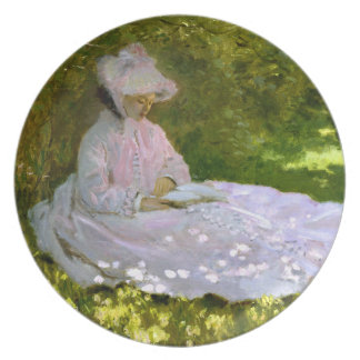 Claude Monet: The Reader Plate