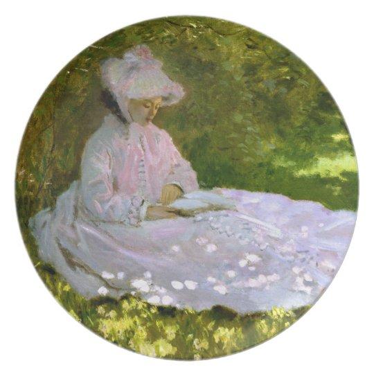 Claude Monet: The Reader Plate