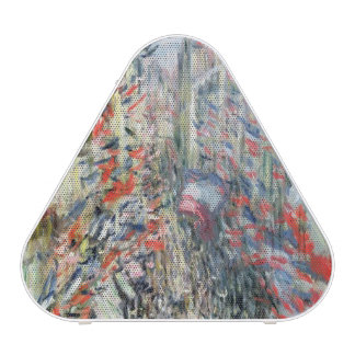 Claude Monet | The Rue Montorgueil, Paris Speaker