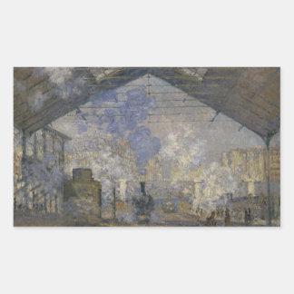 Claude Monet - The Saint-Lazare Station