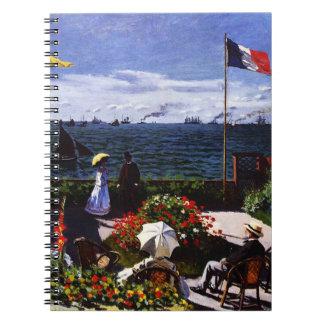 Claude Monet-The Terrace at Sainte-Adresse Notebooks