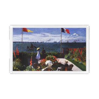 Claude Monet-The Terrace at Sainte-Adresse Perfume Tray
