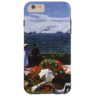 Claude Monet-The Terrace at Sainte-Adresse Tough iPhone 6 Plus Case