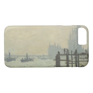 Claude Monet - The Thames at Westminster iPhone 8/7 Case