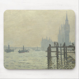 Claude Monet - The Thames at Westminster Mouse Pad
