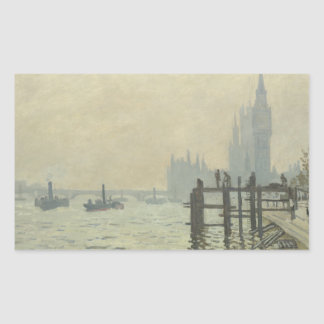 Claude Monet - The Thames at Westminster Sticker