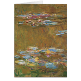 Claude Monet The Water Lily Pond GalleryHD Card
