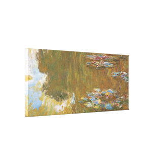 Claude Monet The Water Lily Pond GalleryHD Vintage Canvas Print