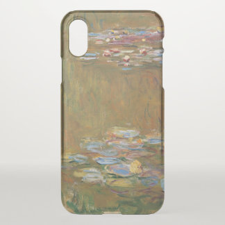 Claude Monet The Water Lily Pond GalleryHD Vintage iPhone X Case