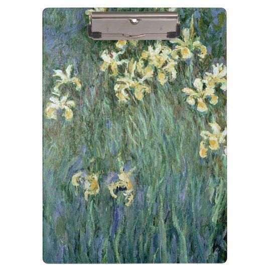 Claude Monet | The Yellow Irises Clipboards