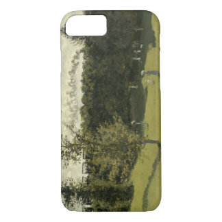 Claude Monet - Train in the Countryside iPhone 7 Case
