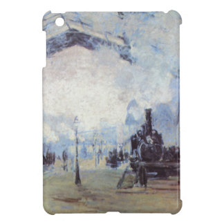Claude Monet Train Station Popular Vintage Art iPad Mini Cases