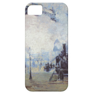 Claude Monet Train Station Popular Vintage Art iPhone 5 Cover