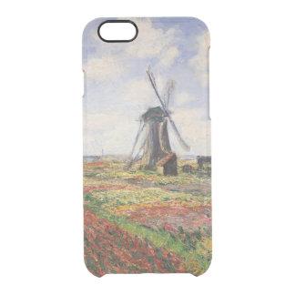 Claude Monet | Tulip Fields Rijnsburg Windmill Clear iPhone 6/6S Case