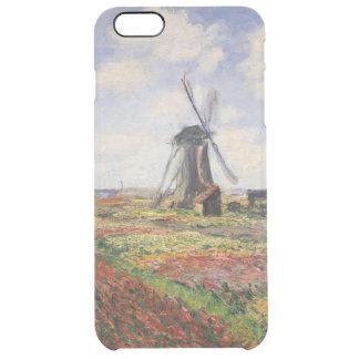 Claude Monet | Tulip Fields Rijnsburg Windmill Clear iPhone 6 Plus Case