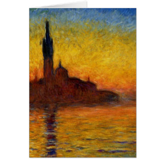 Claude Monet // Venice Twilight Card