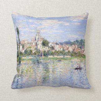 Claude Monet Vétheuil in Summer Throw Pillow