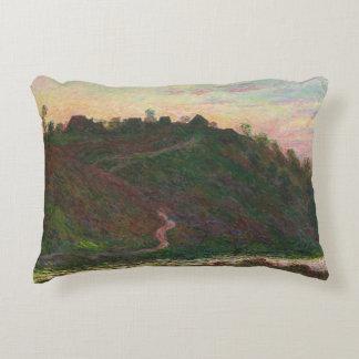 Claude Monet - Village of La Roche-Blond Decorative Pillow