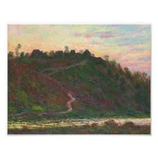 Claude Monet - Village of La Roche-Blond Photo Print