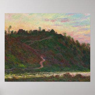 Claude Monet - Village of La Roche-Blond Poster