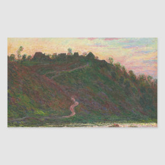 Claude Monet - Village of La Roche-Blond Sticker
