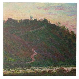 Claude Monet - Village of La Roche-Blond Tile