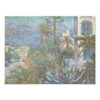 Claude Monet - Villas at Bordighera Art Photo