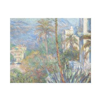 Claude Monet - Villas at Bordighera Canvas Print