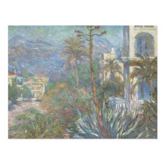 Claude Monet - Villas at Bordighera Postcard