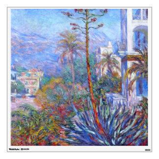Claude Monet: Villas at Bordighera Wall Sticker