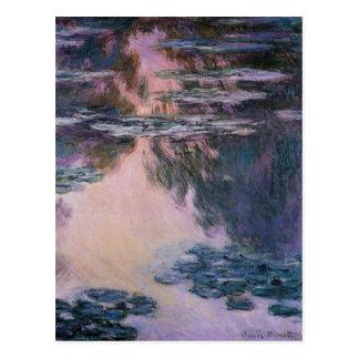 Claude Monet Water Lilies, 1907 GalleryHD Fine Art Postcard