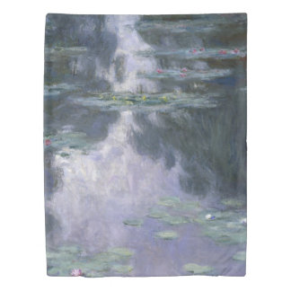 Claude Monet Water Lilies 1907 Nymphéas GalleryHD Duvet Cover