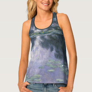 Claude Monet Water Lilies 1907 Nymphéas GalleryHD Tank Top