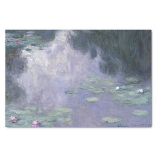 Claude Monet Water Lilies 1907 Nymphéas GalleryHD Tissue Paper