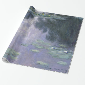 Claude Monet Water Lilies 1907 Nymphéas GalleryHD Wrapping Paper