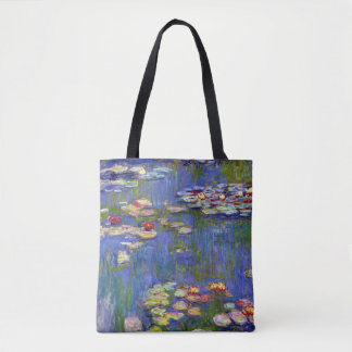 Claude Monet Water Lilies, 1916 Tote Bag