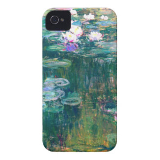 Claude Monet Water Lilies 1917 iPhone 4 Case-Mate Cases