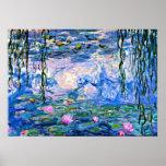 Claude Monet - Water Lilies, 1919 Poster