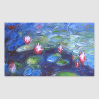 Claude Monet: Water Lilies 2 Sticker