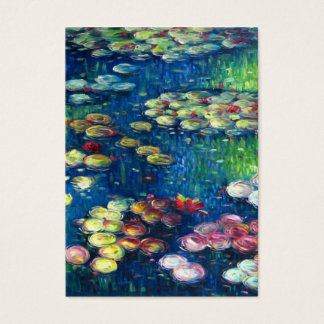 Claude Monet: Water Lilies 3 Business Card
