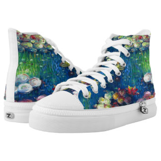 Claude Monet: Water Lilies 3 High Tops