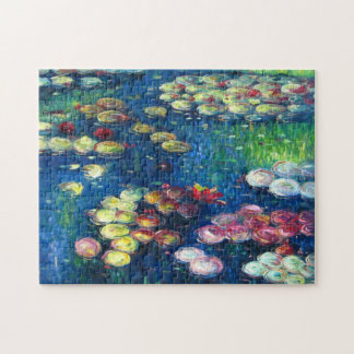 Claude Monet: Water Lilies 3 Jigsaw Puzzle