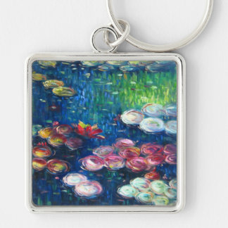 Claude Monet: Water Lilies 3 Keychain