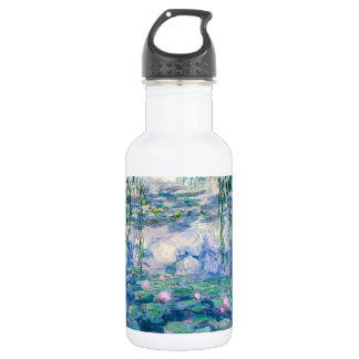 CLAUDE MONET - Water lilies 532 Ml Water Bottle