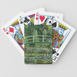 Claude Monet Water Lilies and Japanese Bridge Bicycle Playing Cards