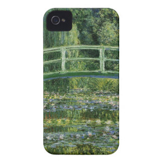 Claude Monet Water Lilies and Japanese Bridge iPhone 4 Cases