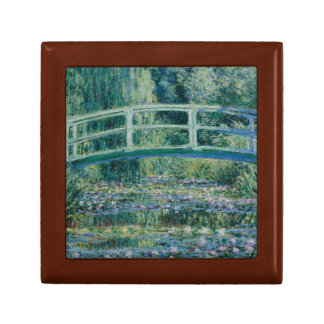 Claude Monet - Water Lilies and Japanese Bridge Keepsake Box