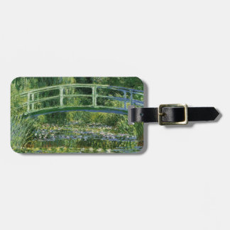 Claude Monet Water Lilies and Japanese Bridge Luggage Tag