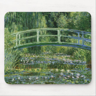 Claude Monet Water Lilies and Japanese Bridge Mouse Pad