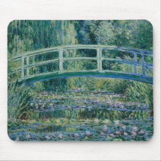 Claude Monet - Water Lilies and Japanese Bridge Mouse Pad